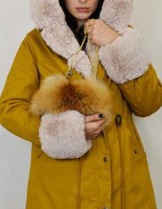 ingrosso borse in pelliccia